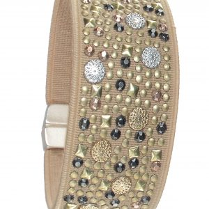 Micro Studded Cuff Bracelet