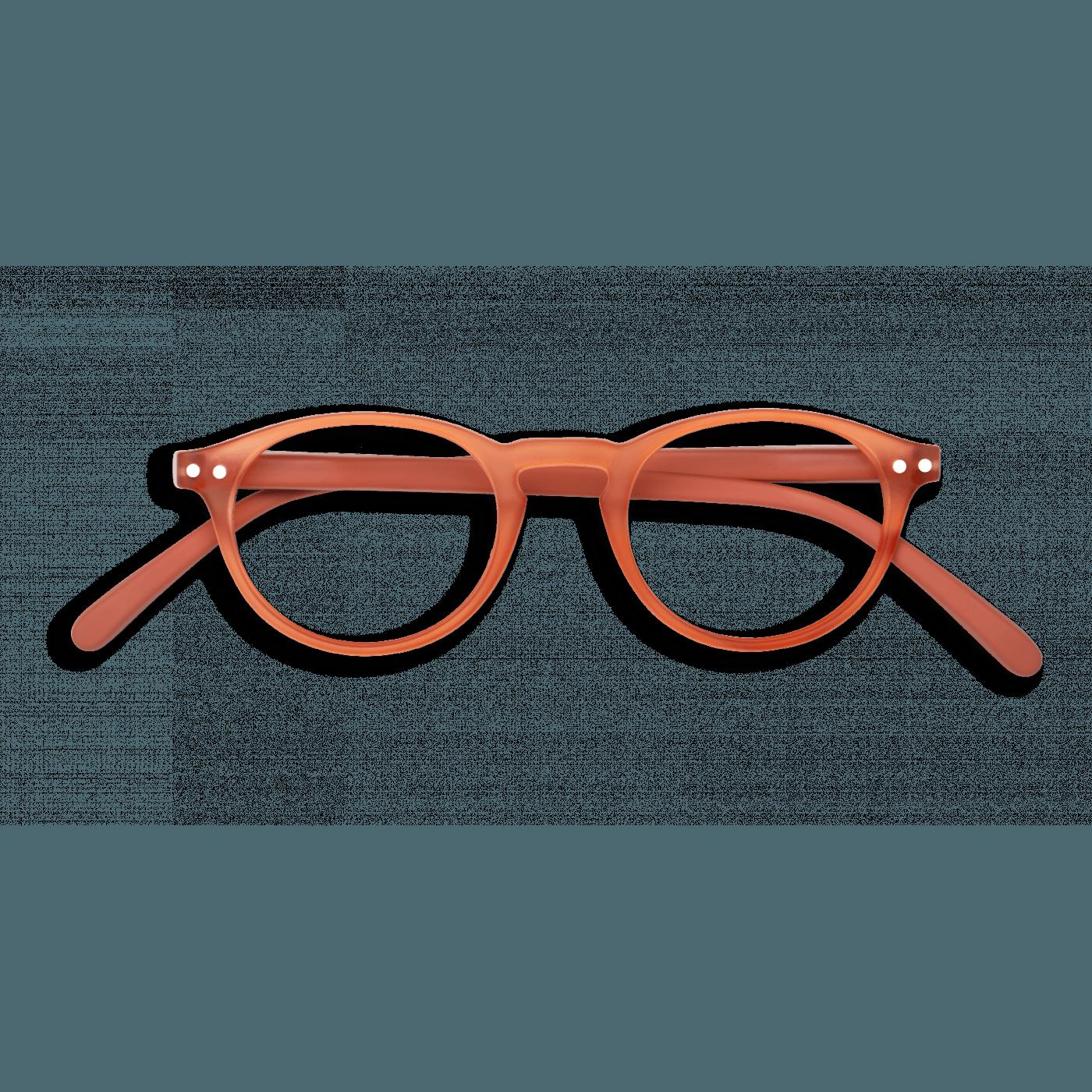 Izipizi #A Reading Glasses (Spectacles) Warm Orange