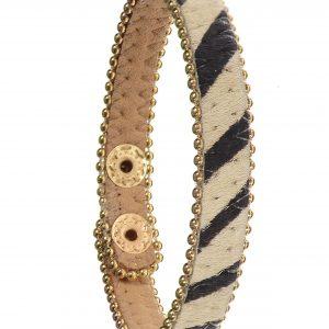 Zebra Print Safari Bracelet