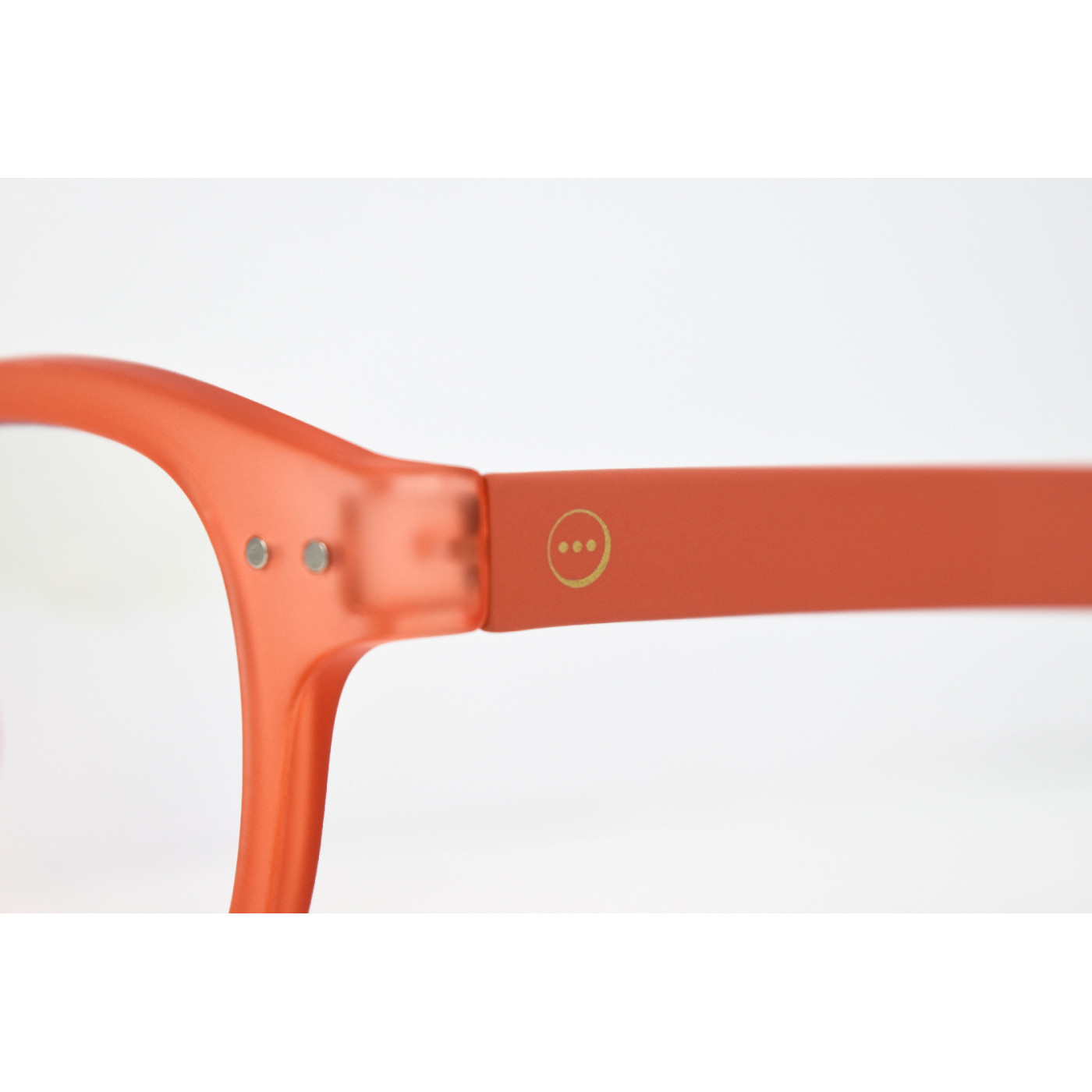Izipizi #D Reading Glasses (Spectacles) in Warm Orange