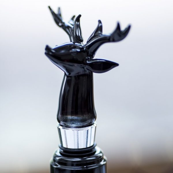 Stag Glass Bottle Stopper
