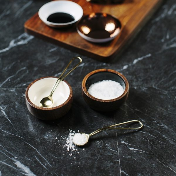 Sheesham Wood Condiment Set