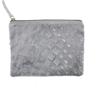 Light Grey Dash Make Up Bag