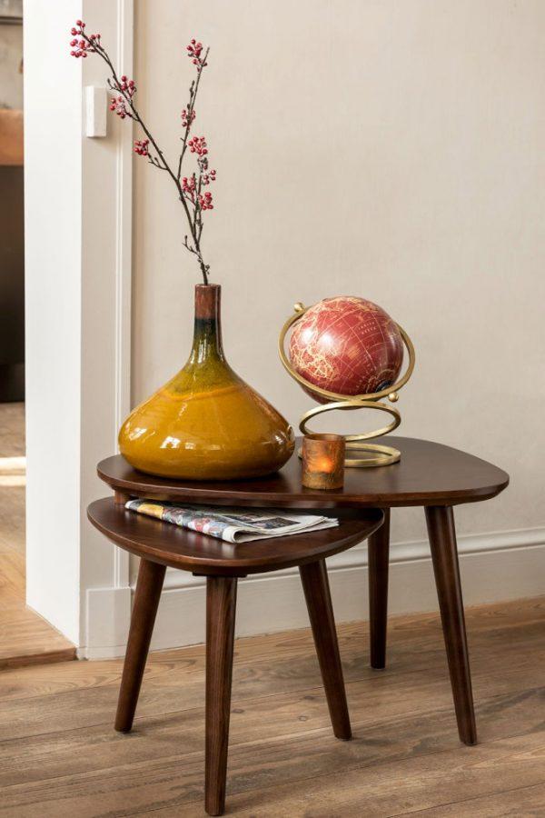 Caramel Ceramic Vase