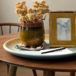 Caramel Ceramic Flower Pot