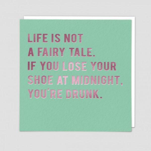 Greetings Card Fairy Tale