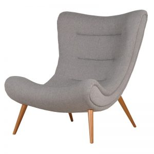 Denver Grey Slouch Chair