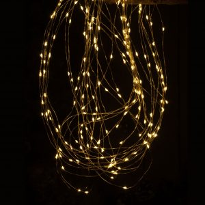 Christmas 100 Boxed Dew Drop Amber LED Lights