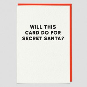 Greetings Card Secret Santa
