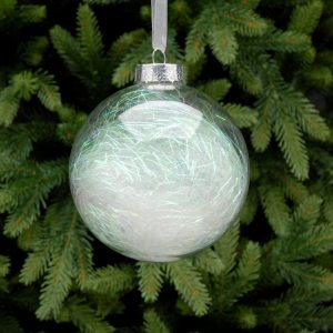 Clear Ball Christmas Hanging Decoration