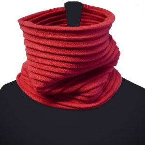 Organic Cotton Red Snood