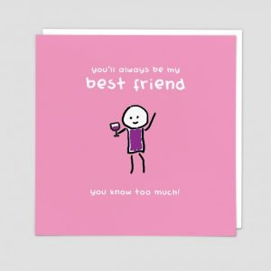 Greetings Card Best Friend