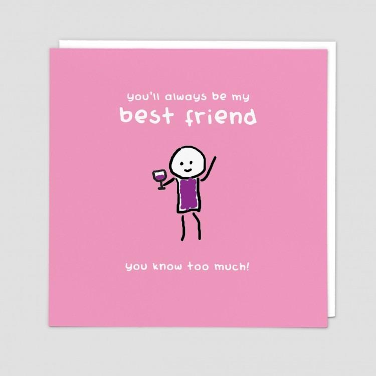 Greetings Card Best Friend