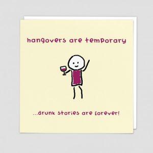 Greetings Card Hangovers