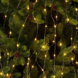 200 Warm White Dewdrop Branch LED Lights