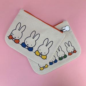 Miffy Elbows Zipper Pouch