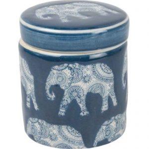 Petite Pot Indigo l'elephant
