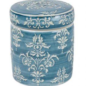Petite Pot Teal Chinoiserie