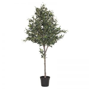 Large Faux Potted Olive Tree