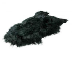 Icelandic Sheepskin Dark Green