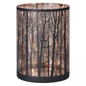 Copper Forest Candle Holder