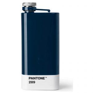 Dark Blue 289 Pantone Hip Flask