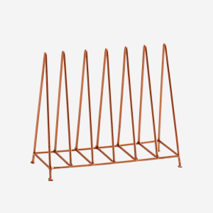 Copper Plate Rack