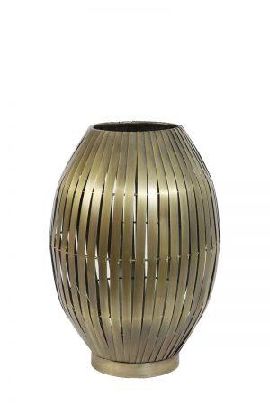 Table Lamp In Antique Bronze