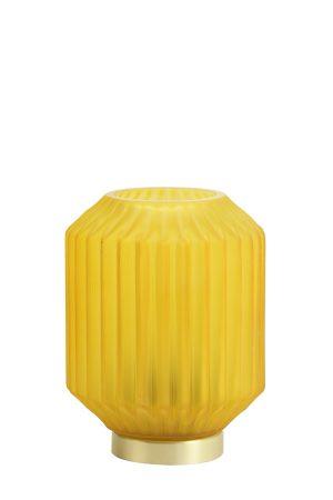 Ginger Glass Battery Table Lamp