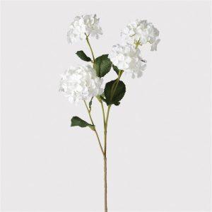 White Hydrangea Small Head Spray