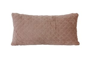 Dusky Pink Shell Cushion