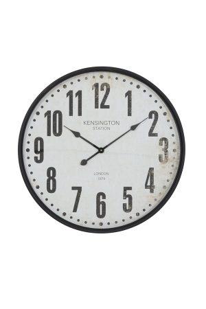 Black Kensington Wall Clock