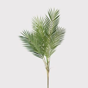 Green Faux Palm Bush Stem