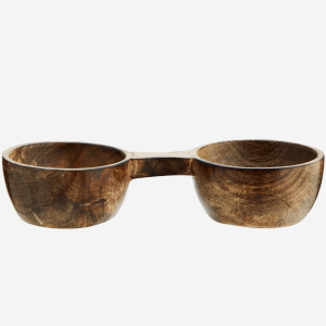 Wooden Salt & Pepper Bowl
