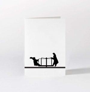 Roundabout Rabbit Card