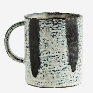 Stoneware Mug with Stripes