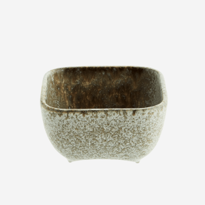 Squared Stoneware Bowl