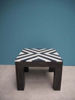 Geometric Marble Table