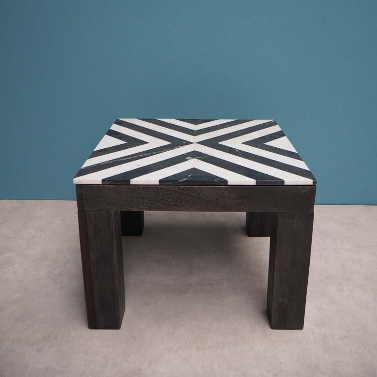 Geometric Marble Table
