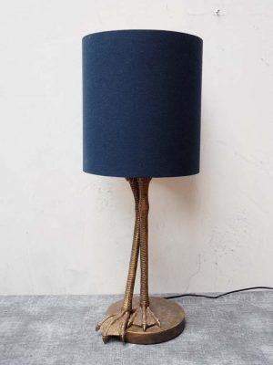 Bird Leg Table Lamp with Shade