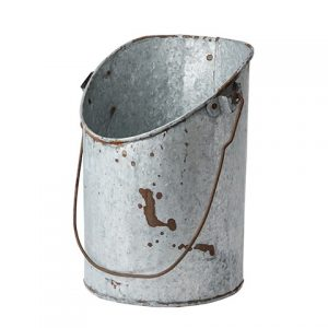 Large Vintage Treasure Bucket