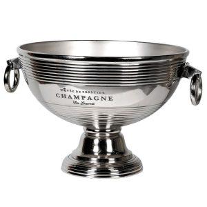 Aluminium Champagne Cooler On Base