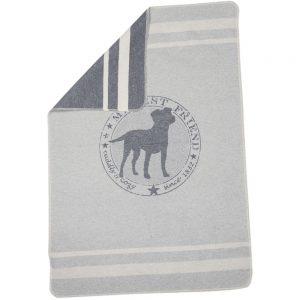 Small Smoke Pet Blanket 'Cuddly & Cozy'