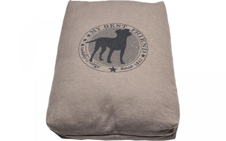 Nova Cuddly & Cozy Smoke Dog Bed