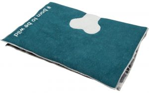 Double Sided Padded Dog Mat Camouflage & Dark Green