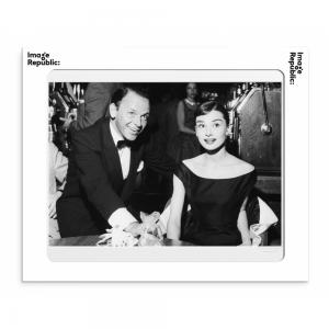 Hepburn & Sinatra Photographic Print 30x40cm