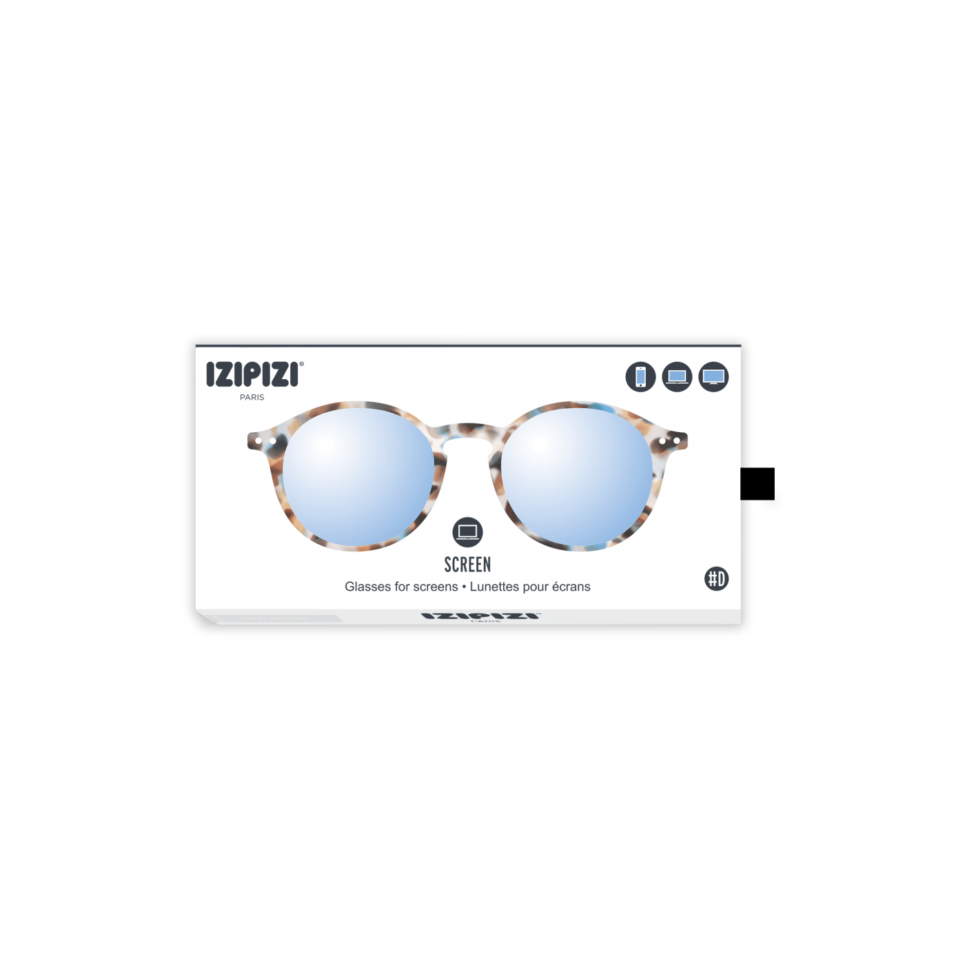 Izipizi #D Screen Protection Glasses in Blue Tortoise