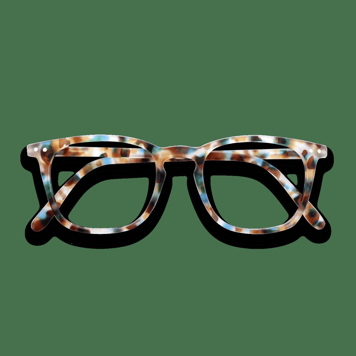 Izipizi #E Screen Protection Glasses in Blue Tortoise