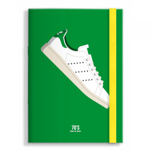 Le Duo 70 Tennis Shoe Greetings Card