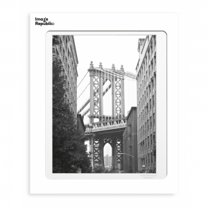 Brooklyn Bridge NY Photographic Print 30x40cm
